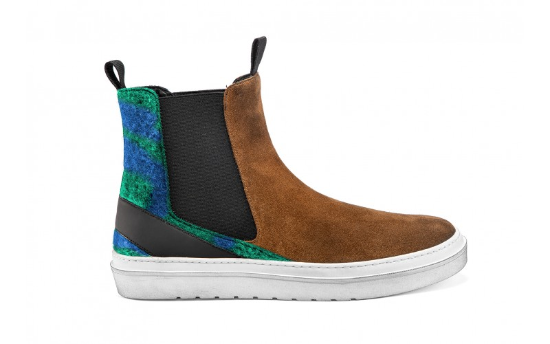 DOUBLE Boot Brown Wooly
