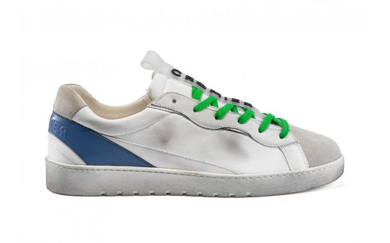 Sneaker uomo - ALPHA White Blue