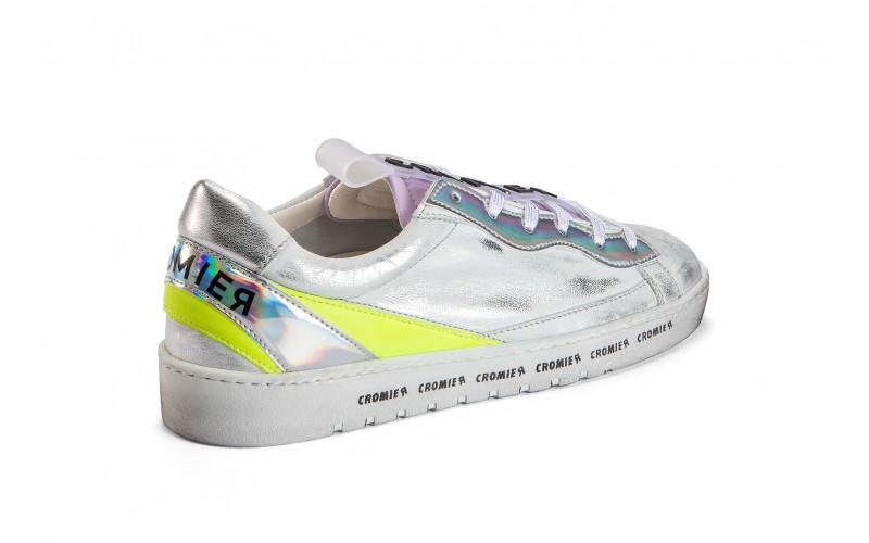 Sneaker donna - ALPHA Iridiscent Silver
