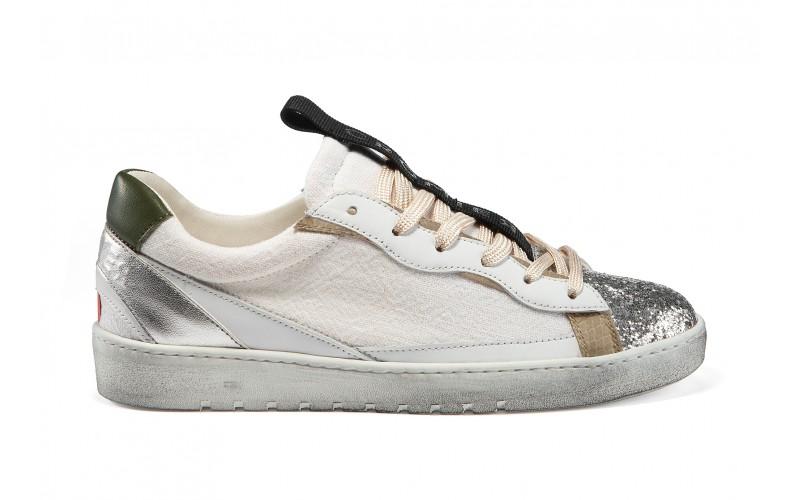 Sneaker donna - ALPHA Silver Linen