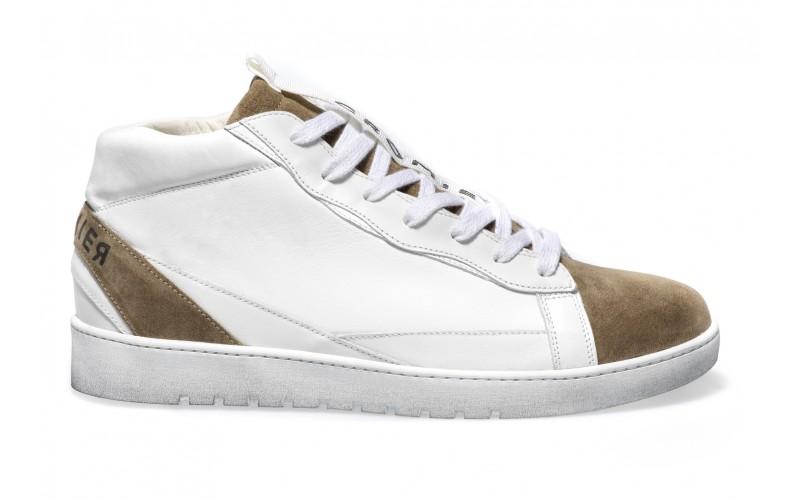 Sneaker Uomo - ALPHA Mid Dune White