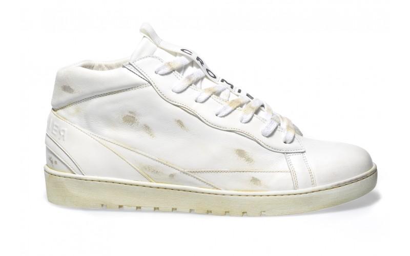 Sneaker Uomo - ALPHA Mid Mono White