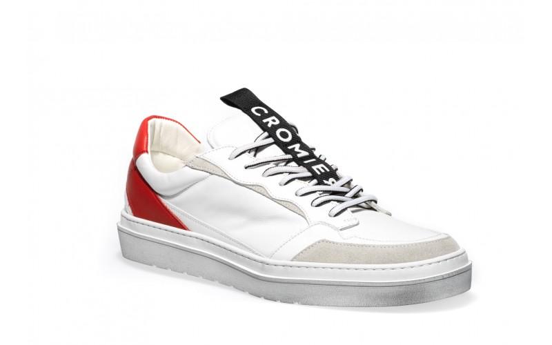 Sneaker Uomo - MARCELLO White Red