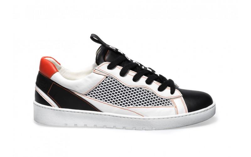 Sneaker Uomo - ALPHA Orange Outline