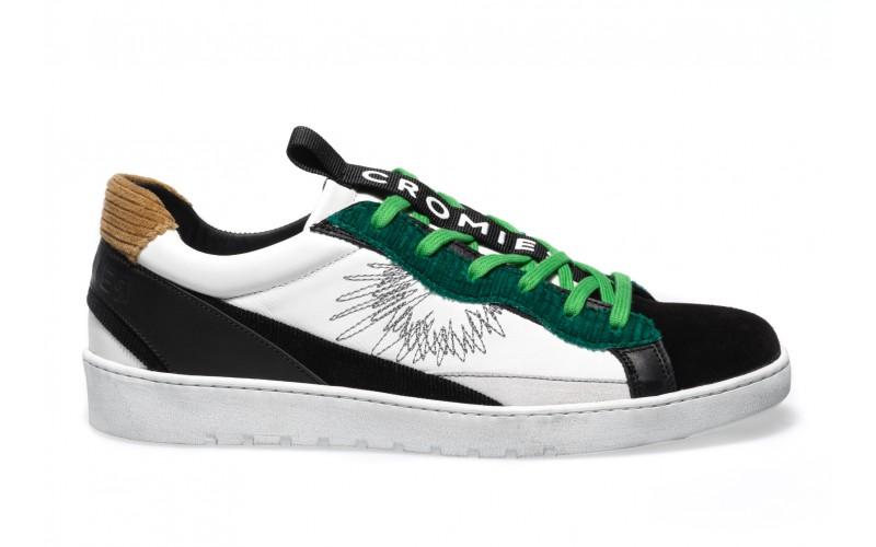 Sneaker Uomo - ALPHA Green Moleskin