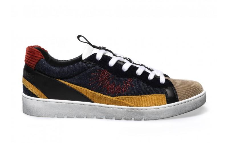 Sneaker Uomo - ALPHA Denim Patch