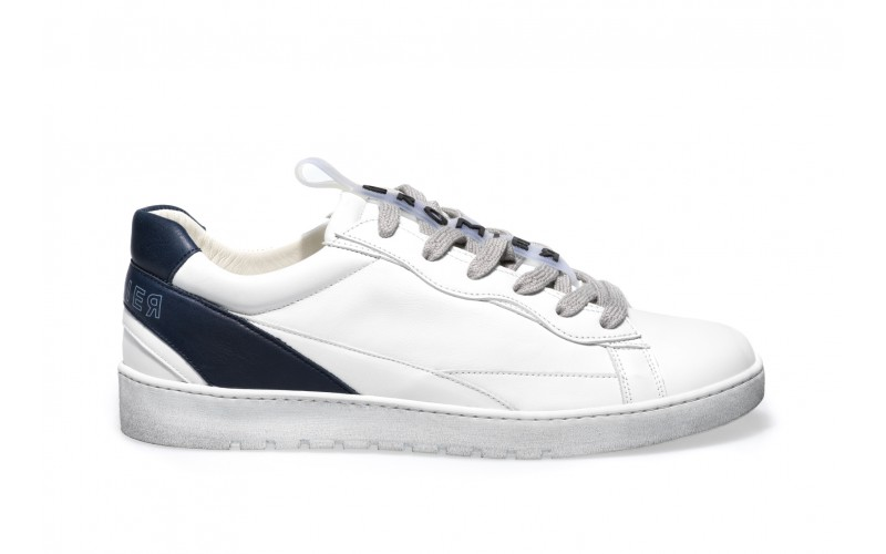 Sneaker Uomo - ALPHA Navy&White