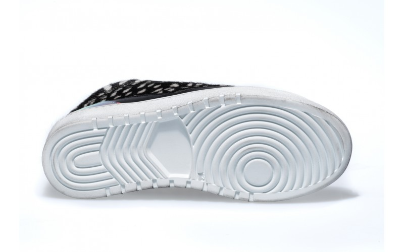 Sneaker Donna - ALPHA Mid Horsy Pois