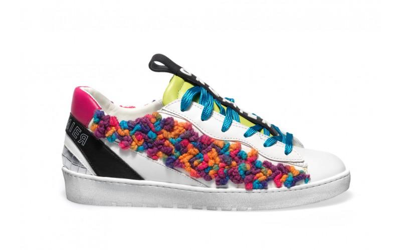 Sneaker Donna - ALPHA Rainbow Wool