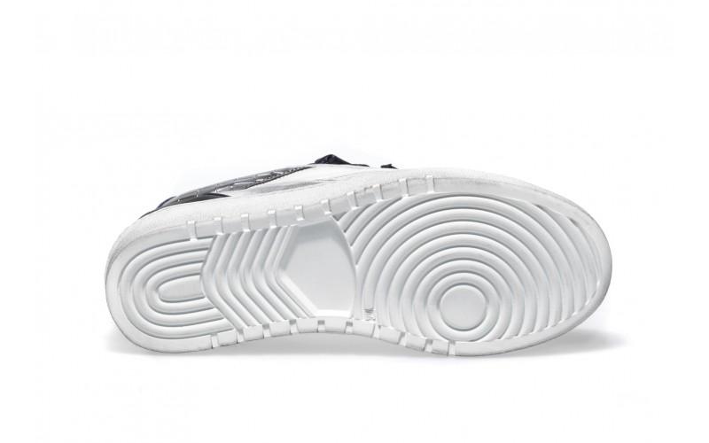 Sneaker Donna - ALPHA Silver&Navy